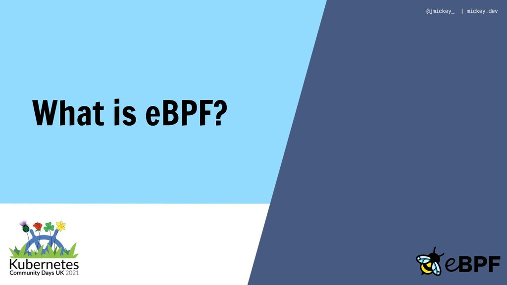 What is eBPF?