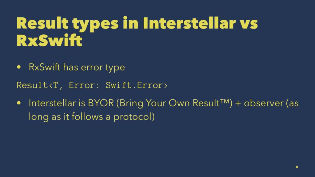 Result types in Interstellar vs RxSwift • RxSwi...