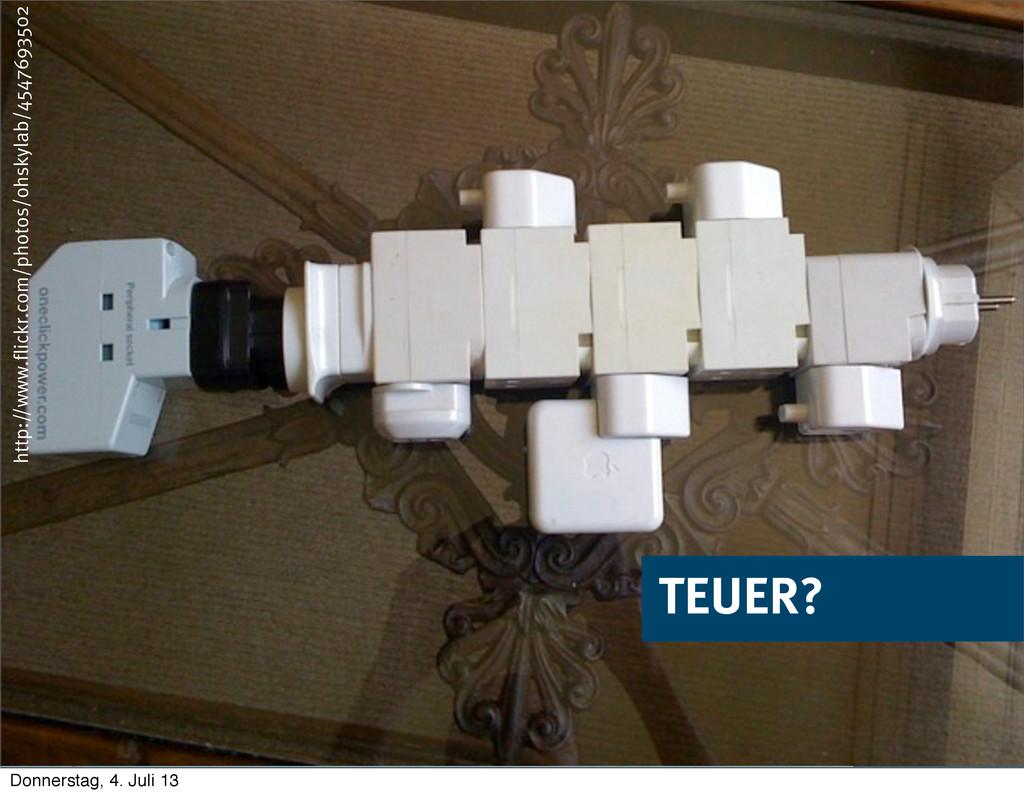 © 2013 innoQ Deutschland GmbH TEUER? http://www...