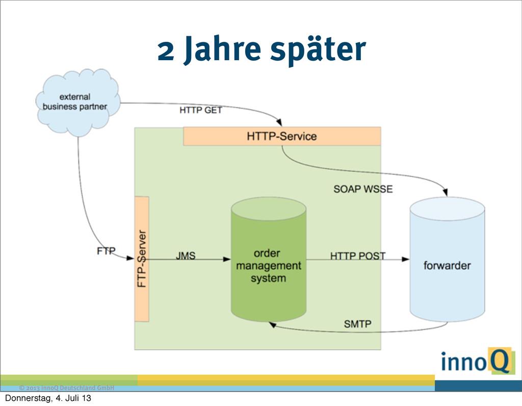 © 2013 innoQ Deutschland GmbH 2 Jahre später Do...