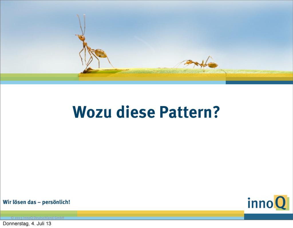 Wir lösen das – persönlich! © 2013 innoQ Deutsc...