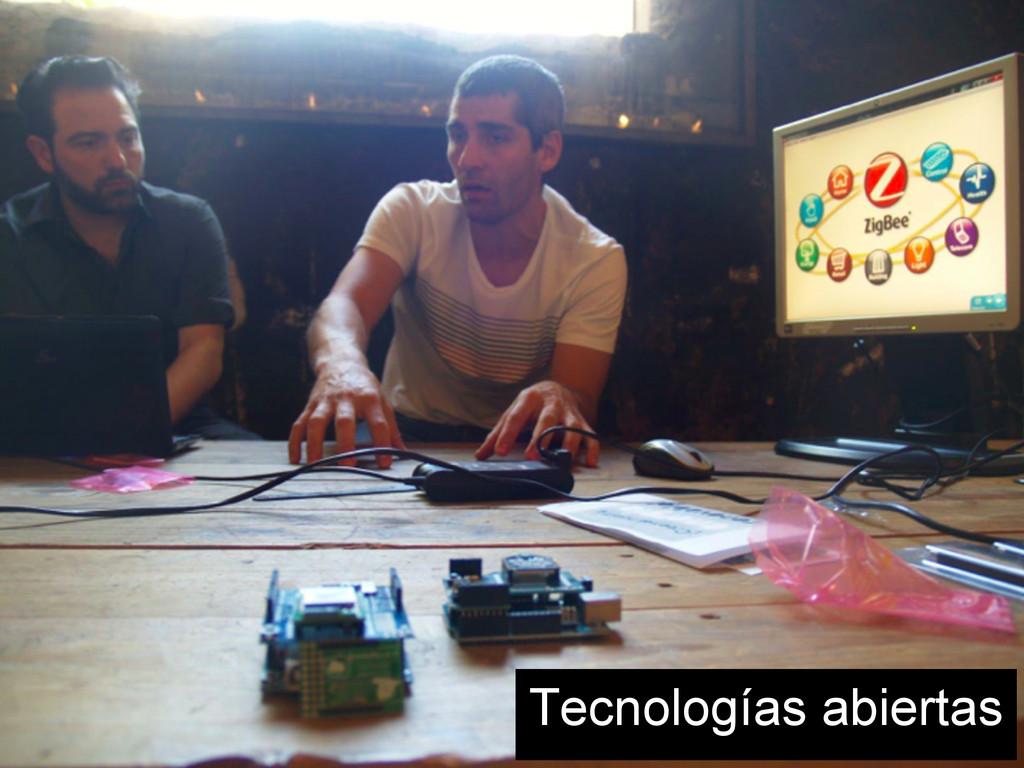 Tecnologías abiertas