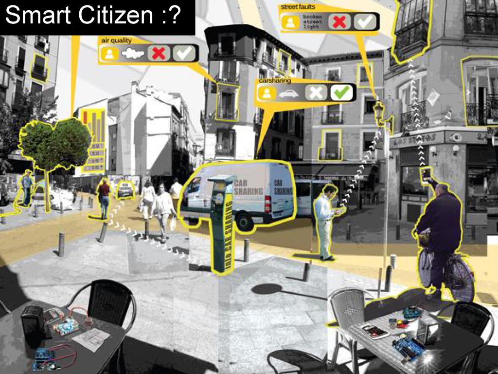 Smart Citizen :?