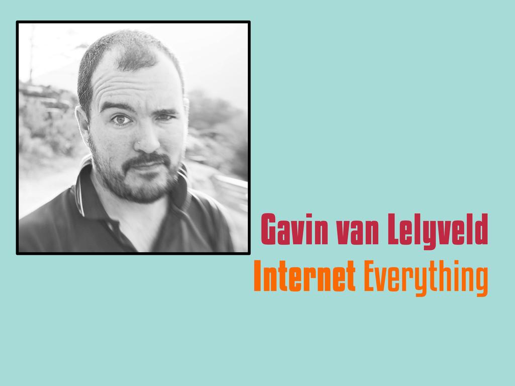 Gavin van Lelyveld Gavin van Lelyveld Internet ...