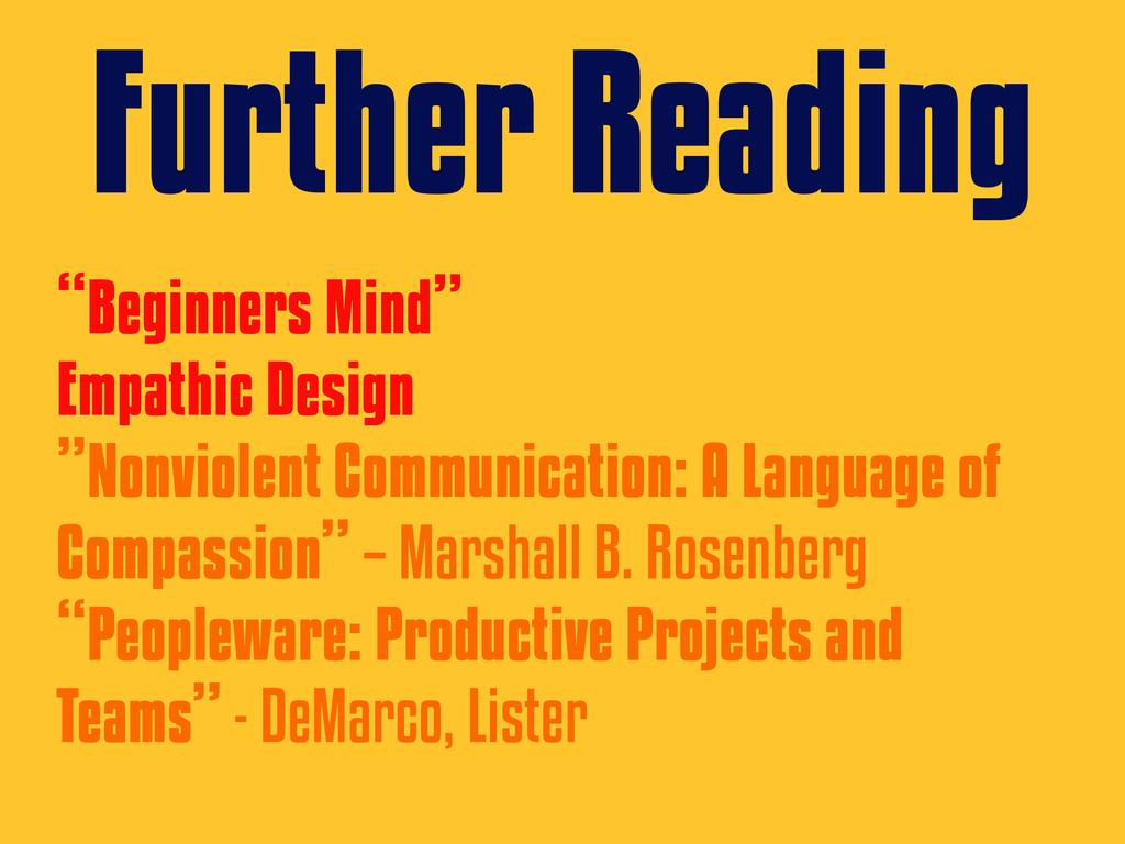 """Beginners Mind"" Empathic Design ""Nonviolent Co..."