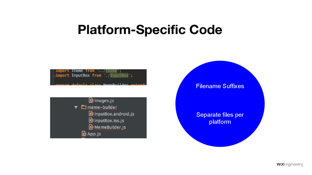 Platform-Specific Code Filename Suffixes Separa...