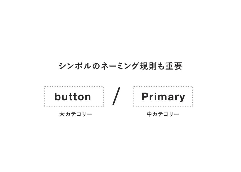 γϯϘϧͷωʔϛϯάنଇॏཁ button Primary େΧςΰϦʔ தΧςΰϦʔ