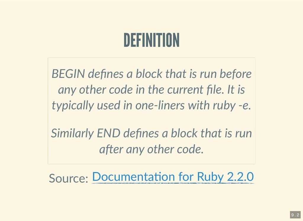 DEFINITION DEFINITION Source: BEGIN defines a bl...