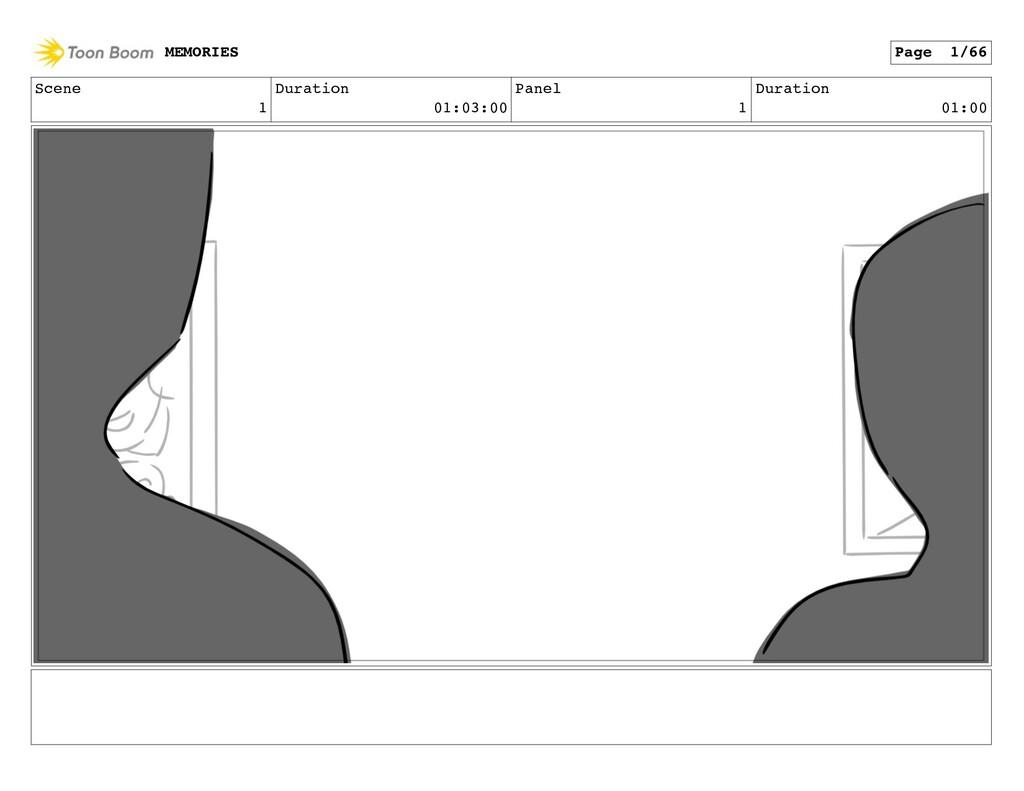 Scene 1 Duration 01:03:00 Panel 1 Duration 01:0...