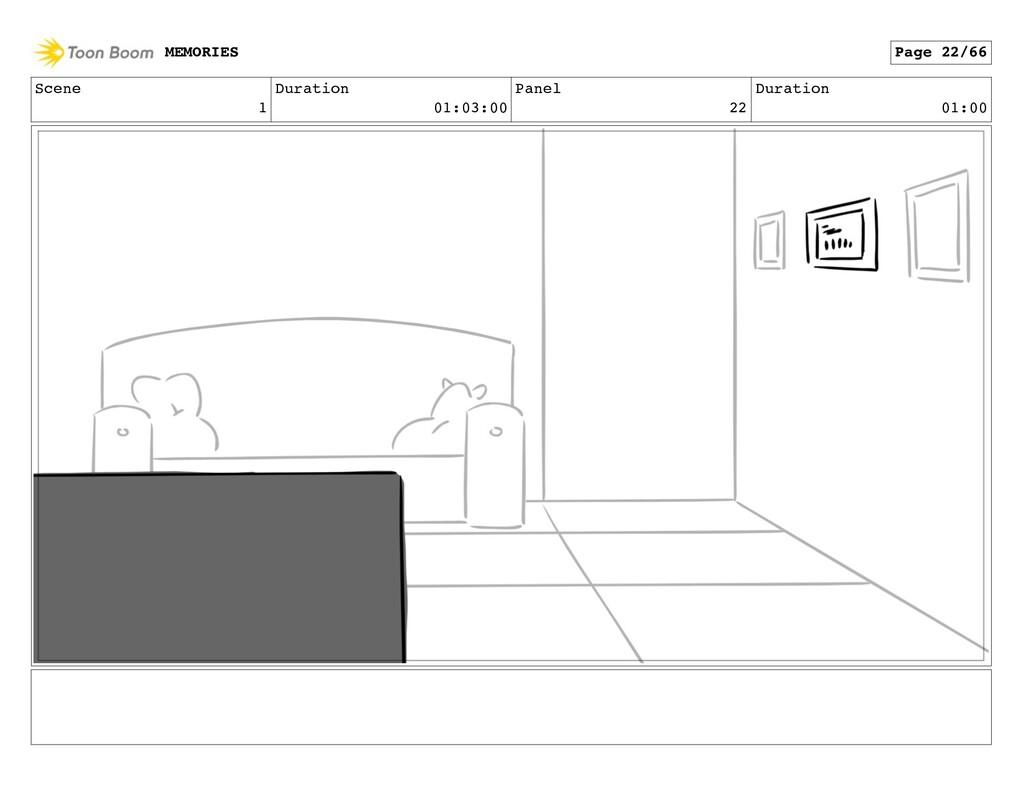 Scene 1 Duration 01:03:00 Panel 22 Duration 01:...