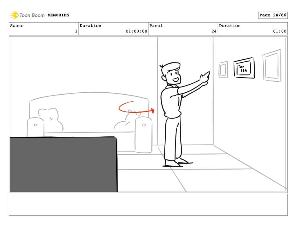 Scene 1 Duration 01:03:00 Panel 24 Duration 01:...
