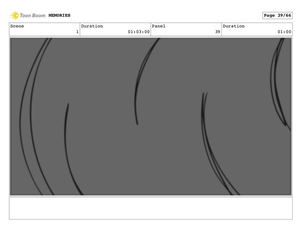 Scene 1 Duration 01:03:00 Panel 39 Duration 01:...