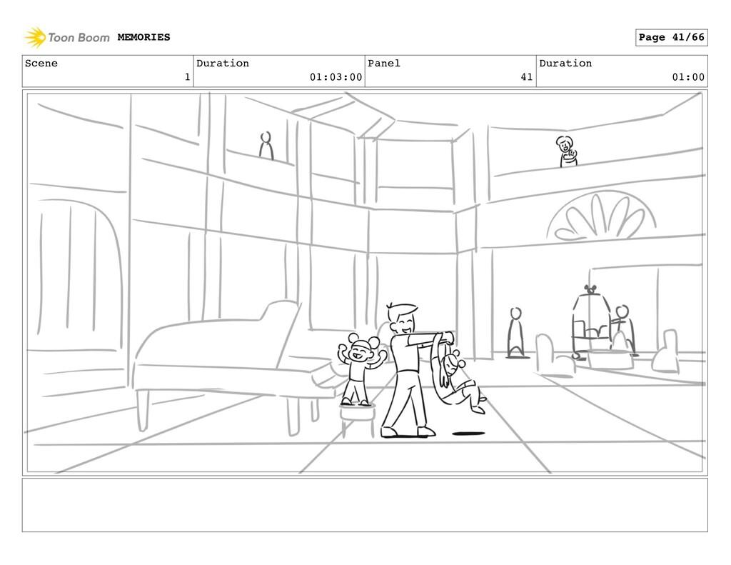 Scene 1 Duration 01:03:00 Panel 41 Duration 01:...
