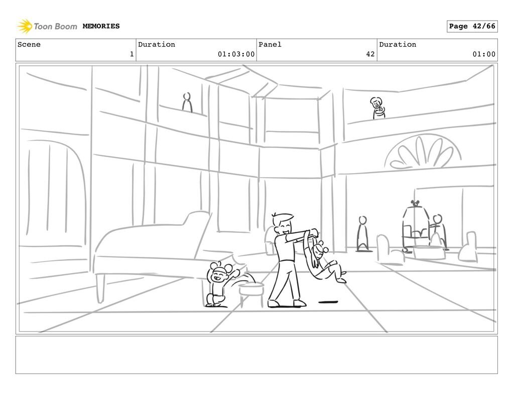 Scene 1 Duration 01:03:00 Panel 42 Duration 01:...