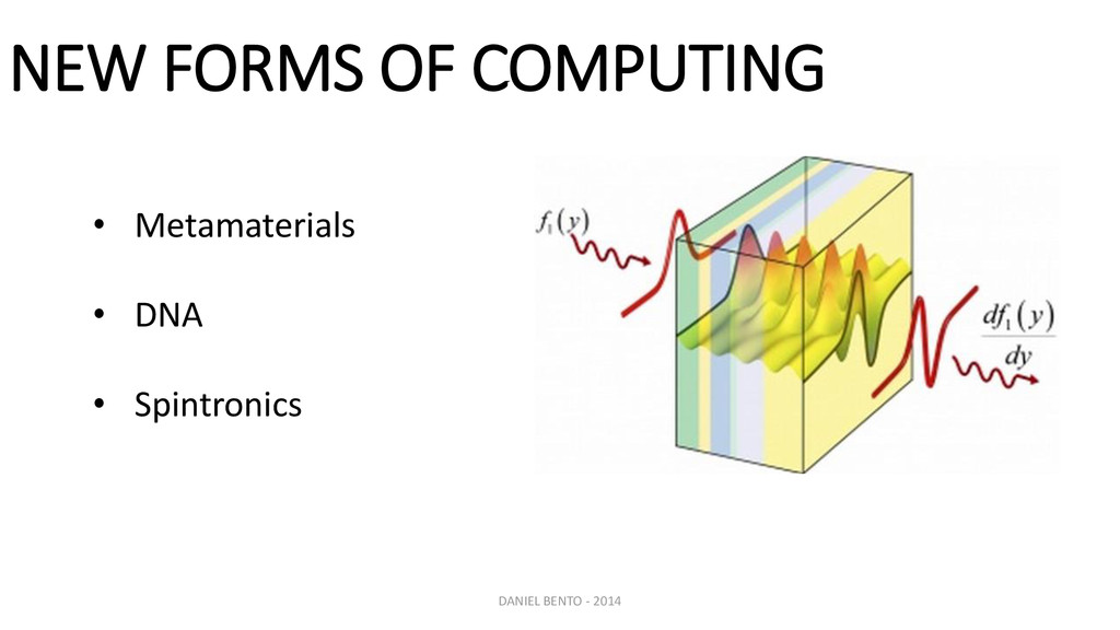 DANIEL BENTO - 2014 NEW FORMS OF COMPUTING • Me...