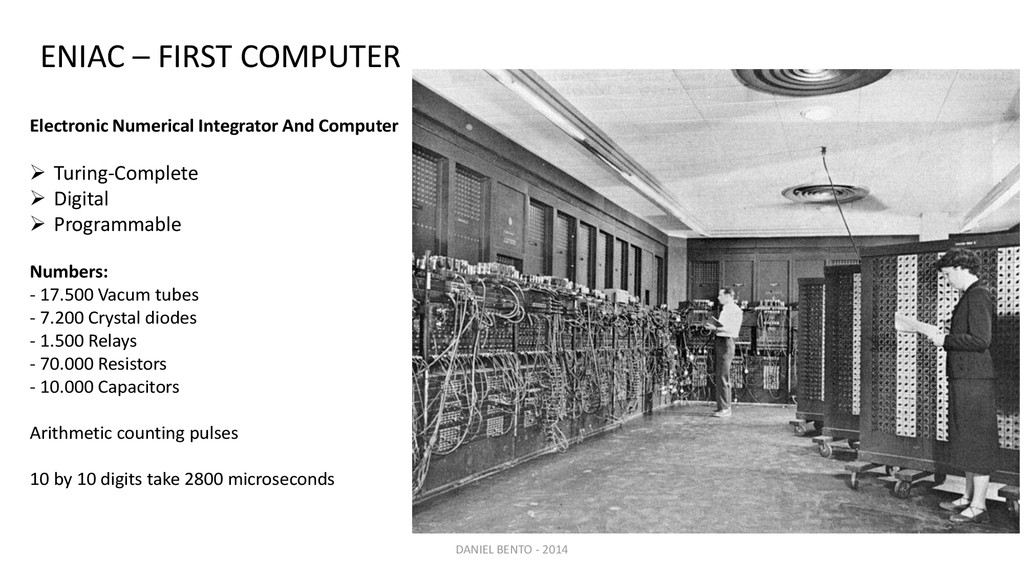 Electronic Numerical Integrator And Computer  ...