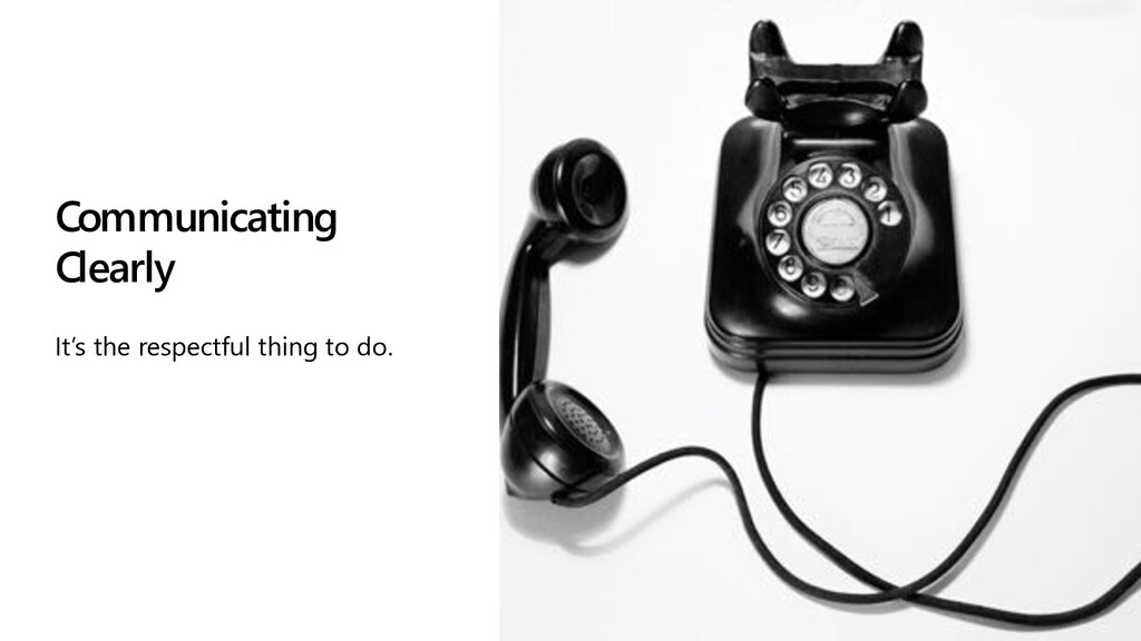 @editingemily | #MSBuild Communicating Clearly ...