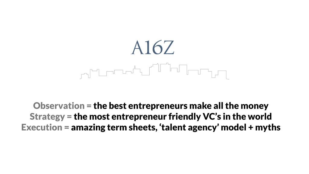 Observation = the best entrepreneurs make all t...