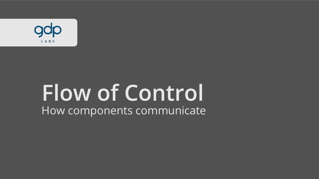 How components communicate