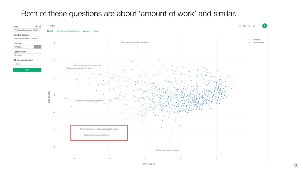 50 Both of these questions are about 'amount of...