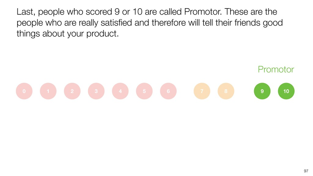 Last, people who scored 9 or 10 are called Prom...