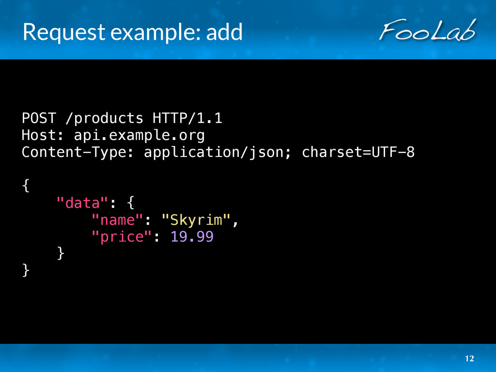 Request example: add POST /products HTTP/1.1 Ho...