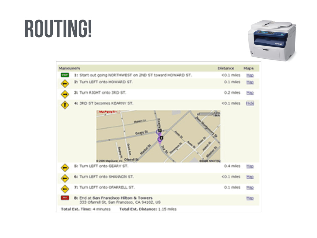 routing!