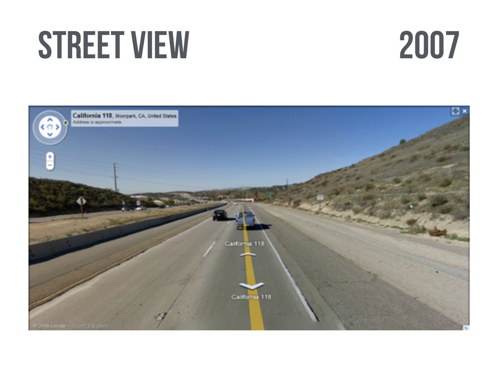 2007 street view