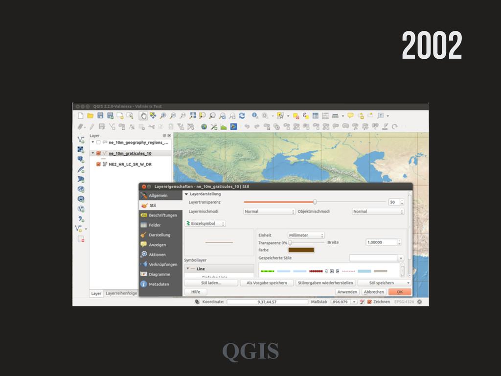 2002 QGIS