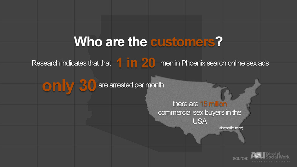 Who are the customers? source: there are 15 mil...
