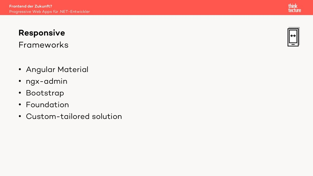 Frameworks • Angular Material • ngx-admin • Boo...