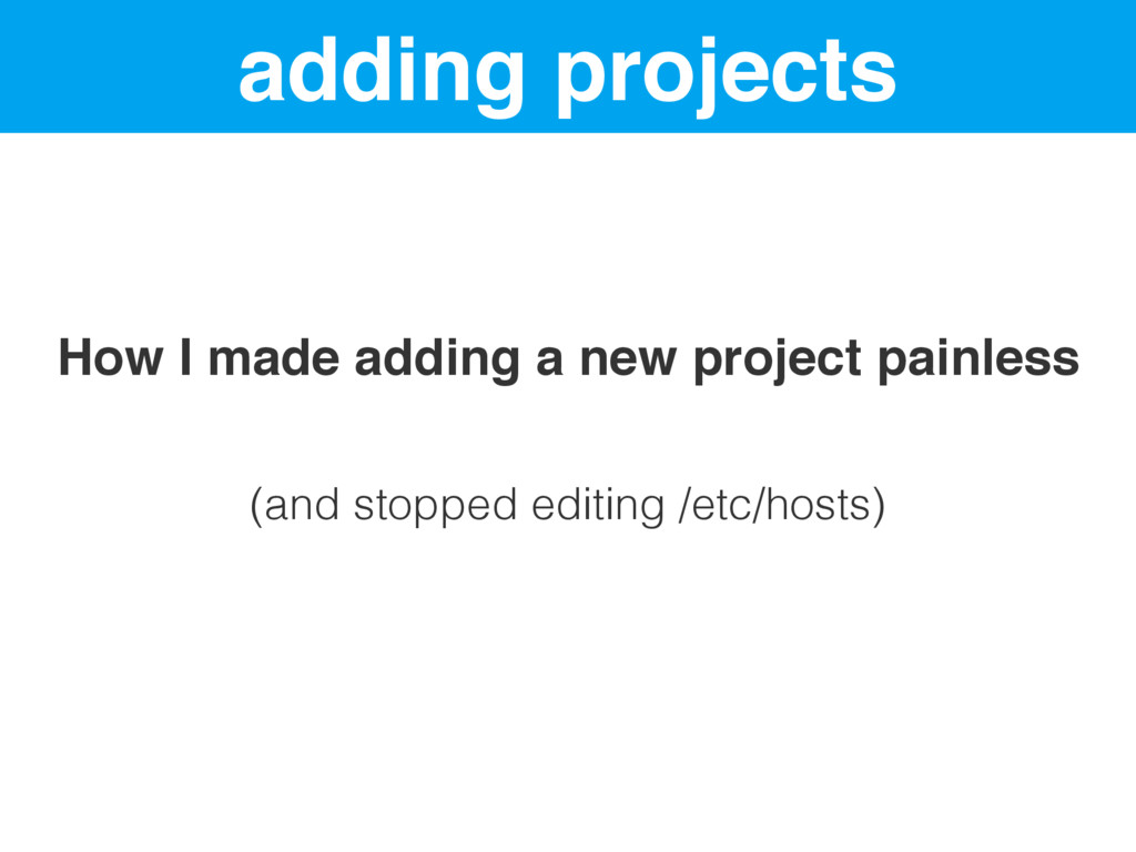 adding projects How I made adding a new project...