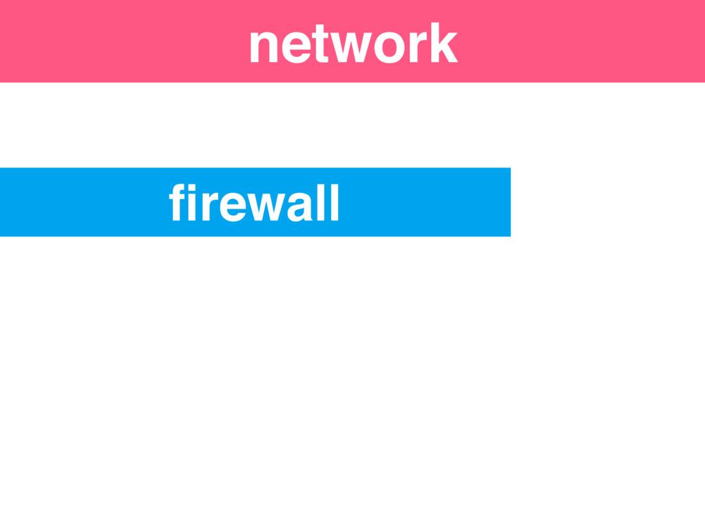 firewall network