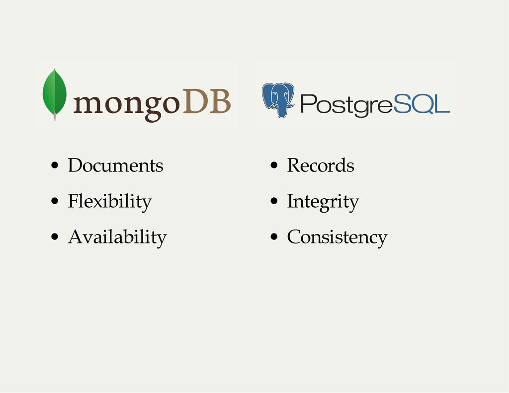 • Documents • Records • Flexibility • Integrity...