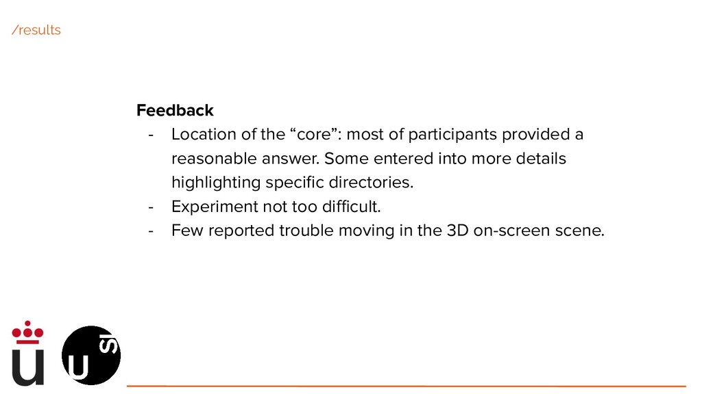 """Feedback - Location of the """"core"""": most of part..."""
