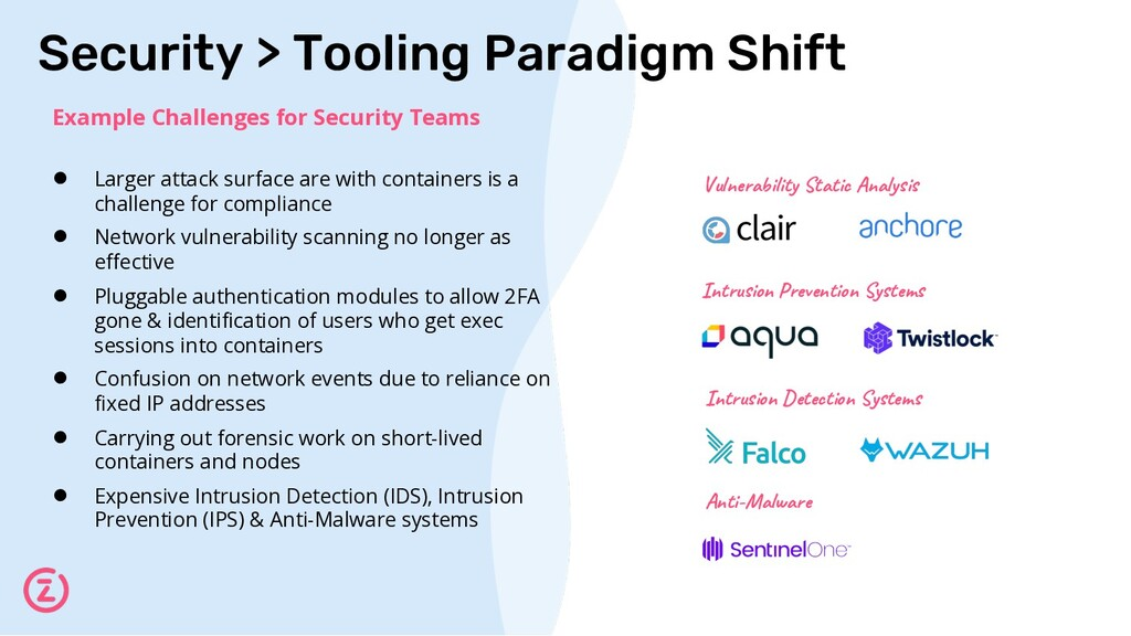 Security > Tooling Paradigm Shift Example Chall...