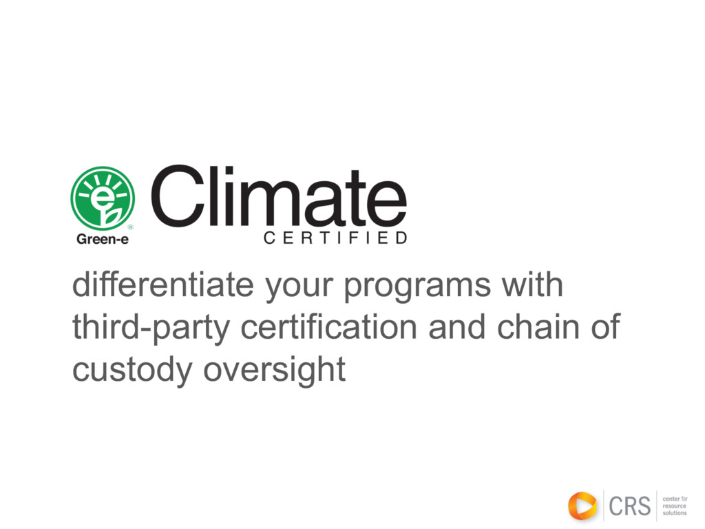differentiate your programs with third-party ce...