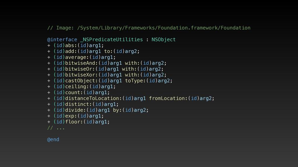 // Image: /System/Library/Frameworks/Foundation...