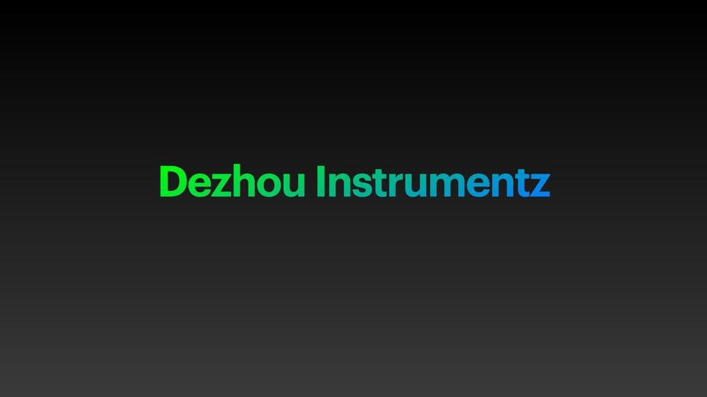 Dezhou Instrumentz