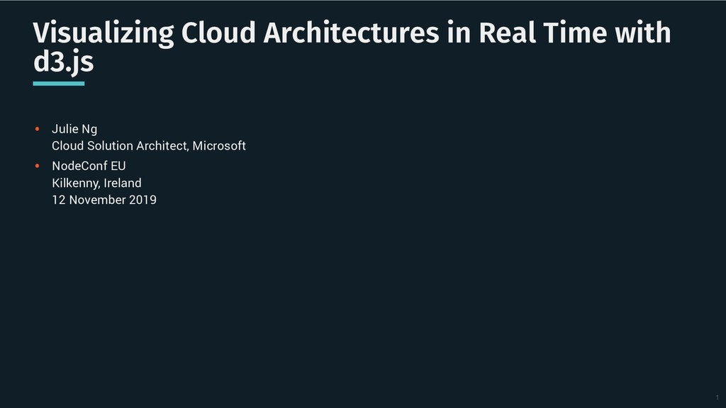 Visualizing Cloud Architectures in Real Time wi...