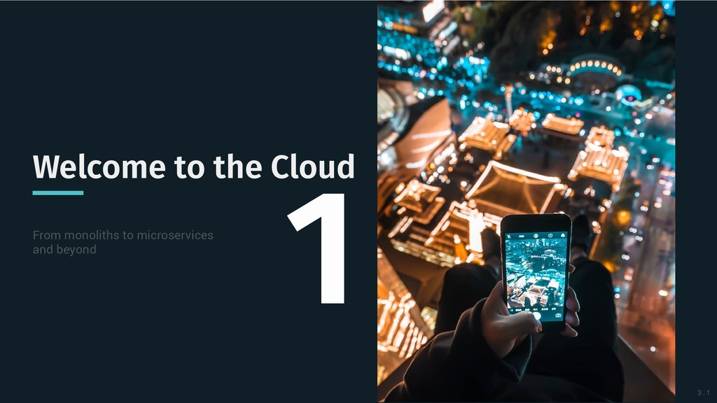 Welcome to the Cloud Welcome to the Cloud From ...