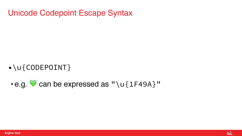•\u{CODEPOINT} • e.g. ! can be expressed as ""\u...1024|576|?|50358cd9d9b688bb60e5edc2dbb68019|False|UNLIKELY|0.30625855922698975