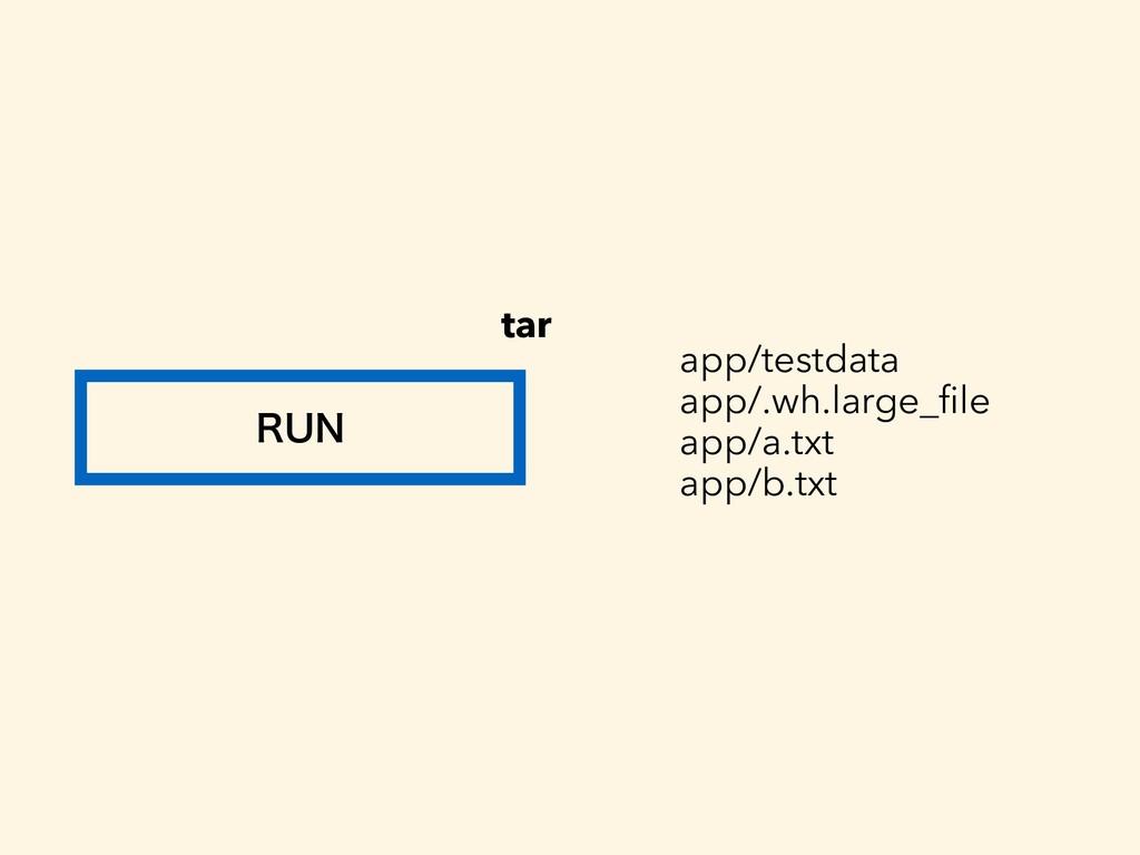 36/ tar app/testdata app/.wh.large_file app/a.tx...