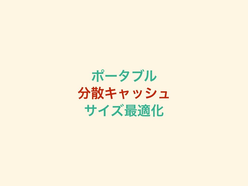 ϙʔλϒϧ Ωϟογϡ αΠζ࠷దԽ