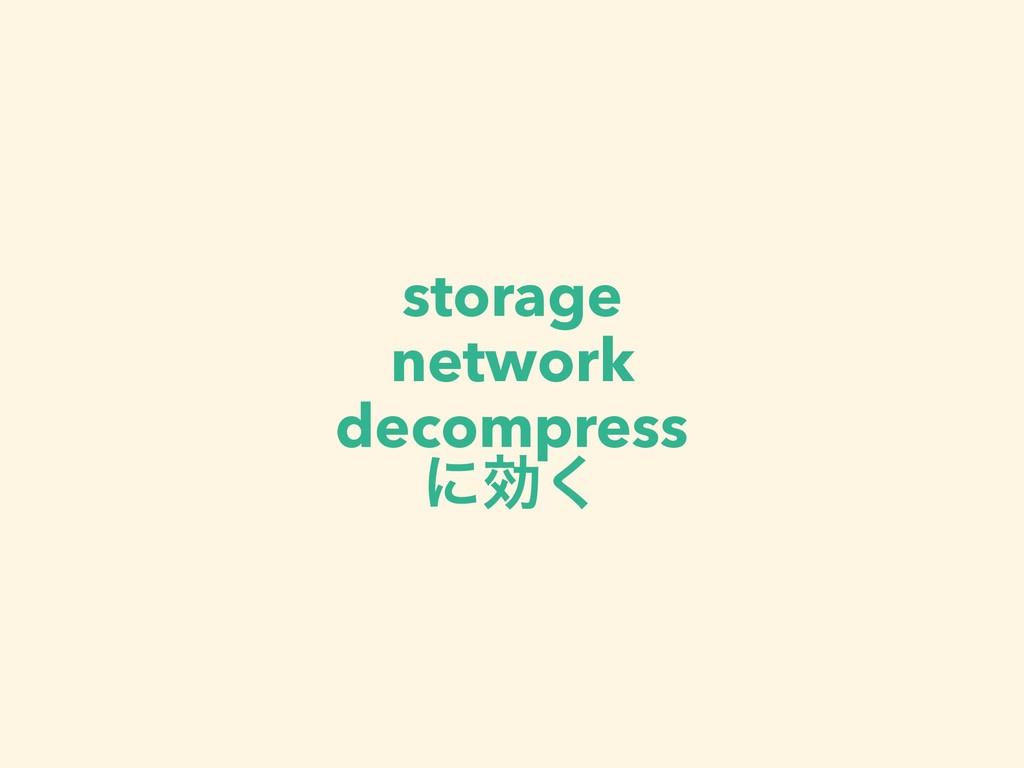 storage network decompress ʹޮ͘