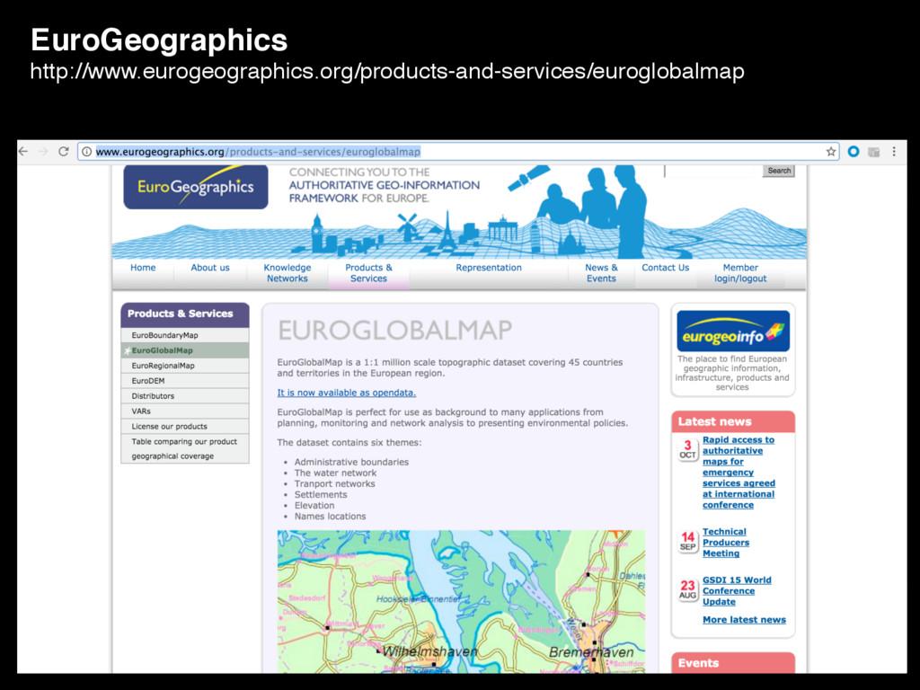 EuroGeographics http://www.eurogeographics.org/...
