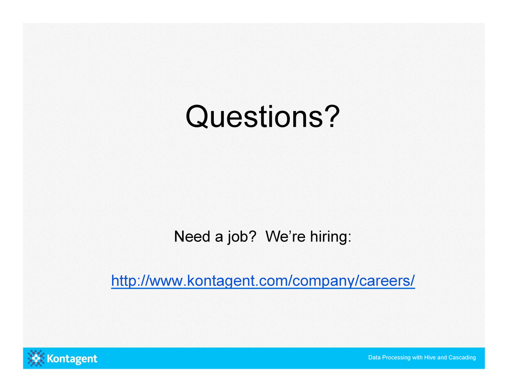 Questions? Need a job? We're hiring: http://www...