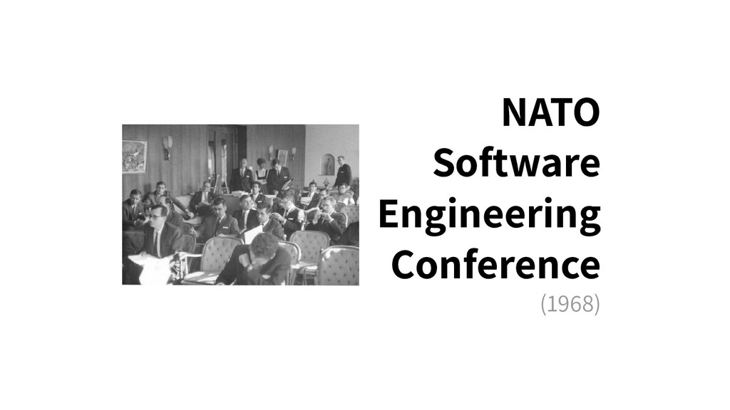 NATO Software Engineering Conference (1968)