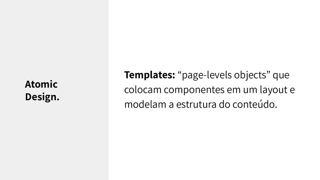 """Templates: """"page-levels objects"""" que colocam co..."""