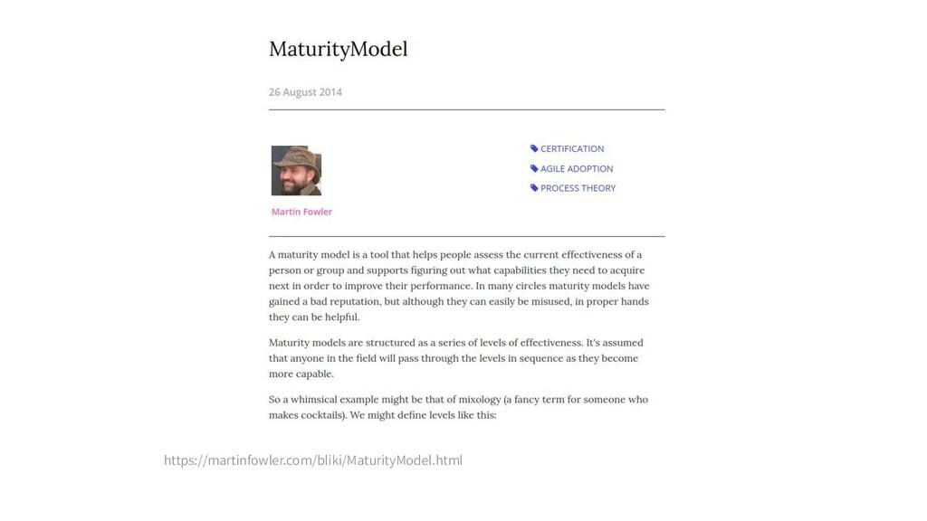 https://martinfowler.com/bliki/MaturityModel.ht...